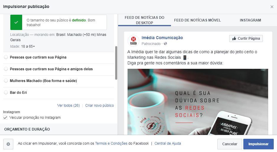 , Aprenda como impulsionar publicações no Facebook